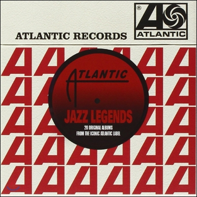 Atlantic Jazz Legends (20CDs Deluxe Edition Box) (아틀랜틱 재즈 레전드)