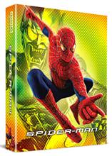 스파이더맨 (2Disc 4K UHD + BD 렌티큘러 스틸북 한정판) : 블루레이
