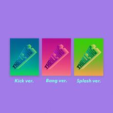 더보이즈 (The Boyz) - 미니앨범 6집 : THRILL-ING [KICK/BANG/SPLASH ver. 중 랜덤발송]