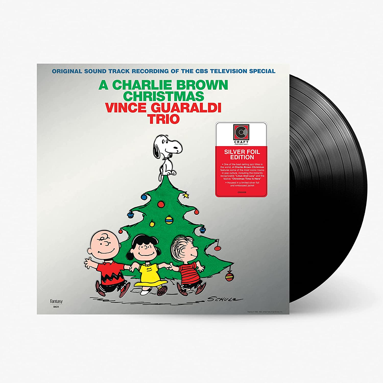 찰리 브라운 크리스마스 음악 (A Charlie Brown Christmas OST by Vince Guaraldi Trio) [LP]