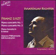 Sviatoslav Richter 리스트: 피아노 협주곡, 피아노 소나타 b단조 - 스비아토슬라프 리히터 (Franz Liszt: Piano Concerto No. 1, No.2, Piano Sonata S. 178)