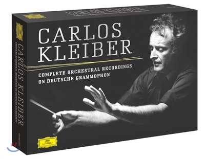 Carlos Kleiber 카를로스 클라이버 DG 관현악 녹음 전집 (Complete Orchestral Recordings on Deutsche Grammophone)
