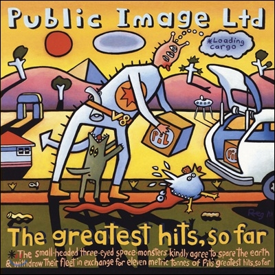 Public Image Limited - The Greatest Hits, So Far (Back To Black Series)