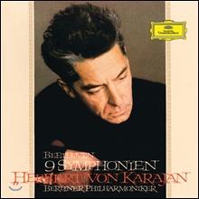 Herbert Von Karajan 베토벤: 교향곡 전곡 (Beethoven: Symphonies Nos. 1-9) 카라얀