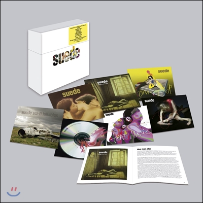 Suede - The Albums Collection (Deluxe Limited Edition) (스웨이드 스튜디오 앨범 박스 세트)