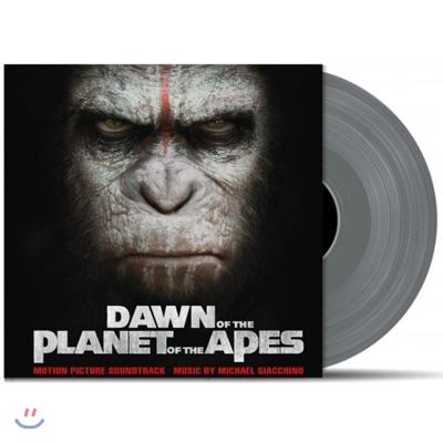 혹성탈출: 반격의 서막 영화음악 (Dawn Of The Planet Of The Apes OST) [실버 컬러 2LP]