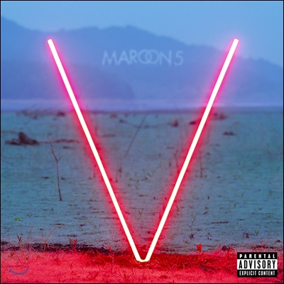 Maroon 5 - V (Red Colored Vinyl) (마룬 5 5집 LP)