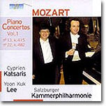 이윤국 / Cyperien Katsaris 모차르트: 피아노 협주곡 13번 22번 (Mozart: Piano Concertos Vol.1 - K415 & K482)