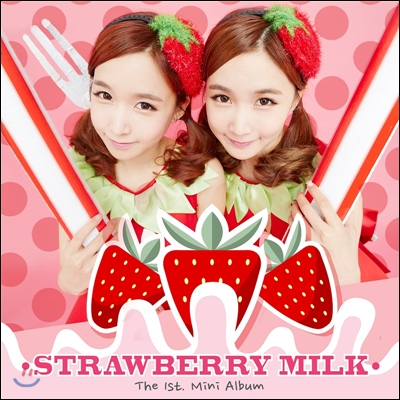 크레용팝-딸기우유 (Crayon Pop-Strawberry Milk) - 미니앨범 1집