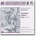 Bach : Overture (Suite) No.1-4