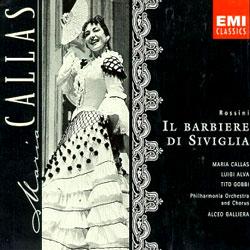 Rossini : Il Barbiere di Siviglia : CallasㆍGalliera