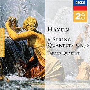 Takacs Quartet 하이든 : 현악 사중주곡집 (Haydn : 6 String Quartet op.76)