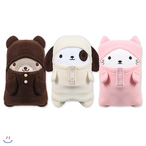 [BEAT] 귀여운 동물 무릎담요 쿠션 FRIENDS