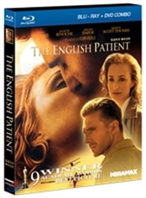 잉글리쉬 페이션트 : 양장 팩키지 (BD+DVD) : 블루레이