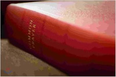 Book Of Common Prayer Desk Edition Red Goatskin Leather: Volume 1: v. 1