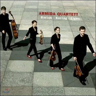 Armida Quartett 바르톡, 쿠르탁, 리게티: 현악 사중주집 (Bartok - Kurtag - Ligeti: String Quartets)