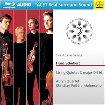 Auryn Quartet 슈베르트: 현악 5중주 (Franz Schubert: String Quintet C major D 956) 블루레이 오디오