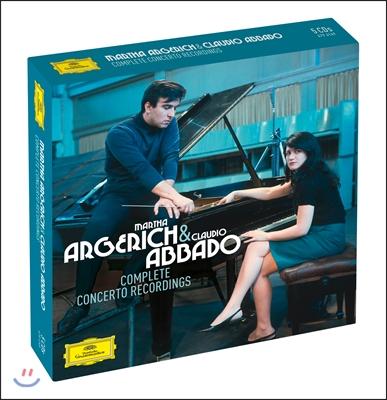 Martha Argerich / Claudio Abbado 마르타 아르헤리치 협주곡 녹음 전집 (The Complete Concerto Recordings)
