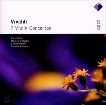 Claudio Scimone 비발디: 바이올린 협주곡집 (Vivaldi: 7 Violin Concertos)