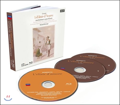 Joan Sutherland / Luciano Pavarotti 도니제티: 사랑의 묘약 - 서덜랜드, 파바로티 (Donizetti: L'elisir d'amore)