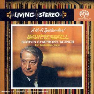 Charles Munch 생상스: 교향곡 3번 `오르간` / 드뷔시: 바다 / 이베르: 기항지 - 샤를 뮌시 (Saint-Sadns: Symphony No.3 / Debussy: La Mer;)