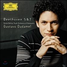 Gustavo Dudamel 베토벤: 교향곡 5번, 7번 (Beethoven: Symphony Op.67, Op.92)