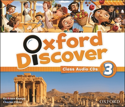 Oxford Discover 3: Class Audio CD