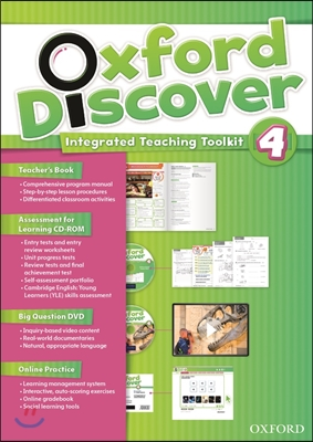 Oxford Discover 4: Teacher's Book integrated teaching toolkit