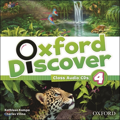 Oxford Discover 4: Class Audio CD