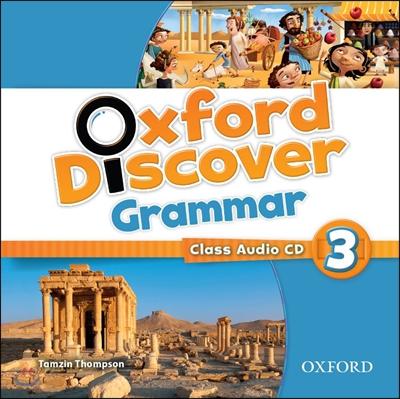 Oxford Discover Grammar: Level 3 Class Audio CD