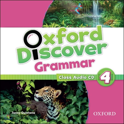 Oxford Discover Grammar: Level 4 Class Audio CD