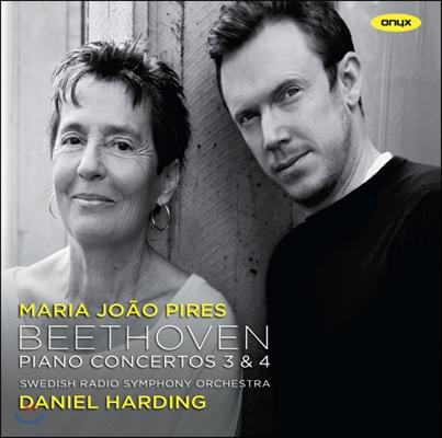Daniel Harding / Maria Joao Pires 베토벤: 피아노 협주곡 (Beethoven: Piano Concertos Nos. 3, 4)