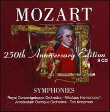 Nikolaus Harnoncourt 모차르트 탄생 250주년 기념반 - 교향곡집 (250th Anniversary Edition - Mozart: Symphonies)