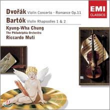 드보르작 : 바이올린 협주곡 / 바르톡 : 랩소디 - 정경화, 무티