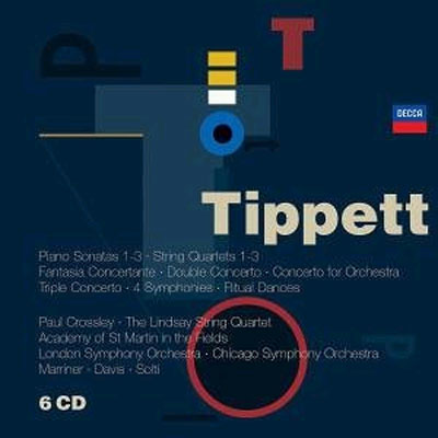 Tippett : SonataㆍQuartet : CrossleyㆍThe Lindsay String Quartet