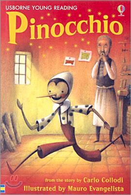 Usborne Young Reading Level 2-16 : Pinocchio