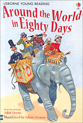 Usborne Young Reading Level 2-05 : Around the World in Eighty Days