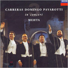 Jose Carreras / Placido Domingo / Luciano Pavarotti 3 테너 인 콘서트 : 1990년 로마공연 (3 tenors In Concert)