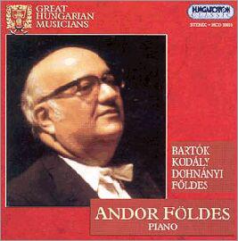 Andor Foldes 바르톡, 코다이, 도흐나니 : 피아노 작품집 (Great Hungarian Musicians)