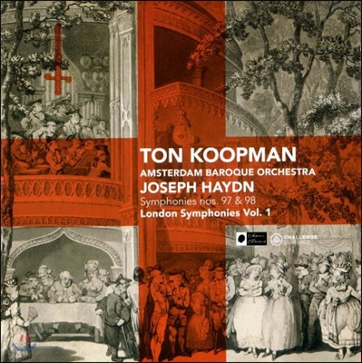 Ton Koopman 하이든: 런던 교향곡집 1 (Haydn: London Symphonies Vol.1 - Nos.97, 98)