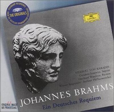 Herbert Von Karajan 브람스: 독일 레퀴엠 (Brahms: A German Requiem) 헤르베르트 폰 카라얀