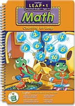 [LeapPad Book: Grade K~1] Math : Counting on Leap
