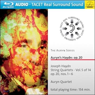 Auryn Quartet 아우린 하이든 시리즈 5 - 현악 사중주 23-28번 '태양' (Auryn's Haydn - String Quartets Op.20 'Sun')