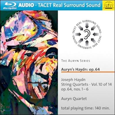Auryn Quartet 아우린 하이든 시리즈 10 - 현악 사중주 48-53번 '토스트' (Auryn's Haydn - String Quartets Op.64 'Tost')