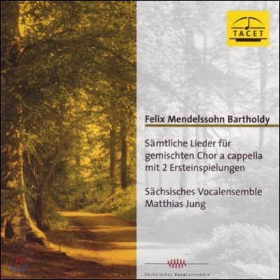 Matthias Jung 멘델스존: 무반주 혼성 합창 전곡 (Mendelssohn: Complete Lieder for Mixed Choir A Cappella)