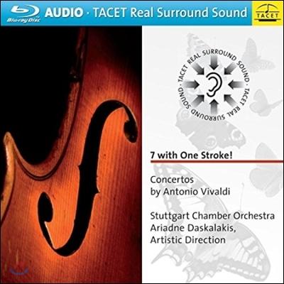 Stuttgart Chamber Orchestra 비발디: 협주곡집 (7 With One Stroke - Vivaldi: Concertos)