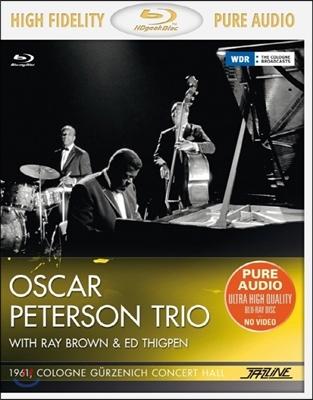 Oscar Peterson Trio 1961년 쾰른 실황 (Cologne Gurzenich Concert Hall) [블루레이 오디오]