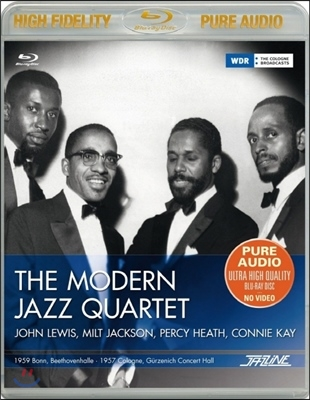 The Modern Jazz Quartet - 1957 Cologne, 1959 Bonn (Bluray Pure Audio)