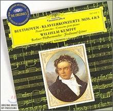 Wilhelm Kempff 베토벤: 피아노 협주곡 4번 5번 `황제` (Beethoven: Piano Concerto No.4, No.5 `Emperor`)