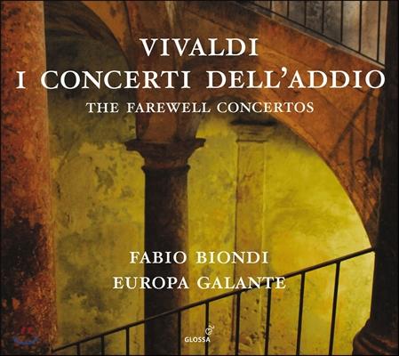 Fabio Biondi 비발디: '고별' 협주곡들 - 파비오 비온디 (Vivaldi: The Farewell Concertos)